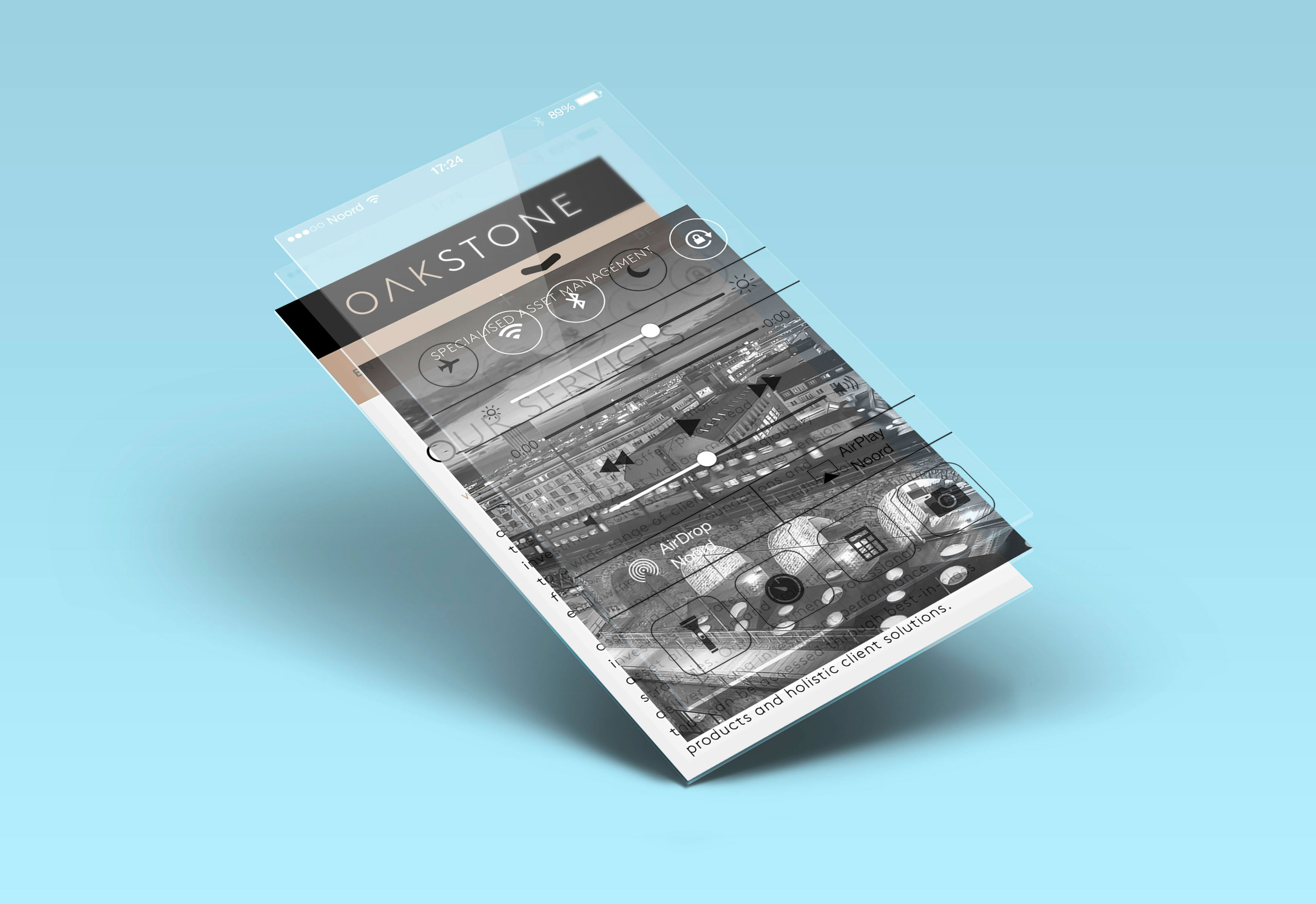 Noord Oakstone Responsive Webdesign