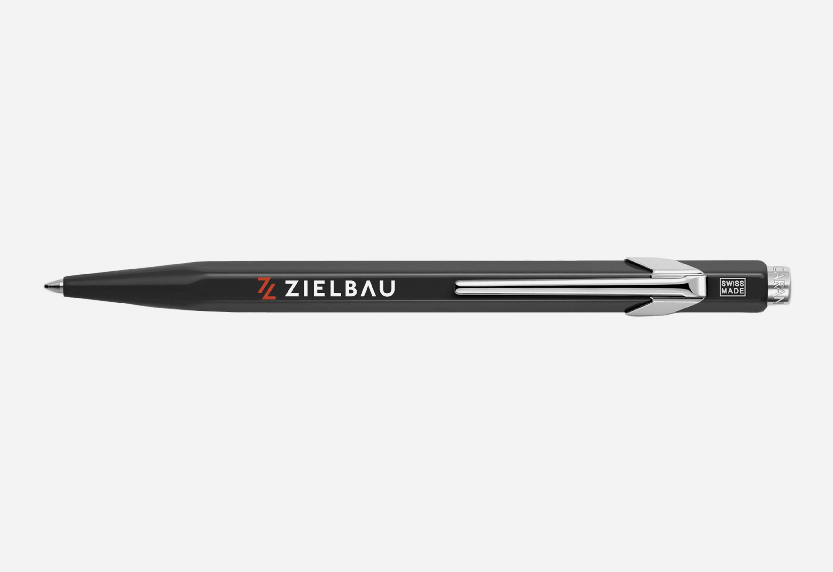Zielbau Logo Marke Corporate Design