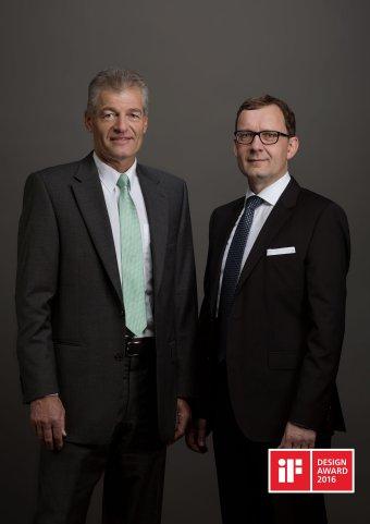 Kuoni Group Annual Report Geschäftsbericht Portrait Fotografie Heinz Karrer Peter Meier
