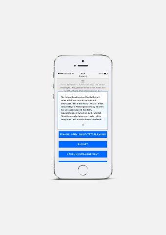 Responsive Webdesign FIDURIA Mobile