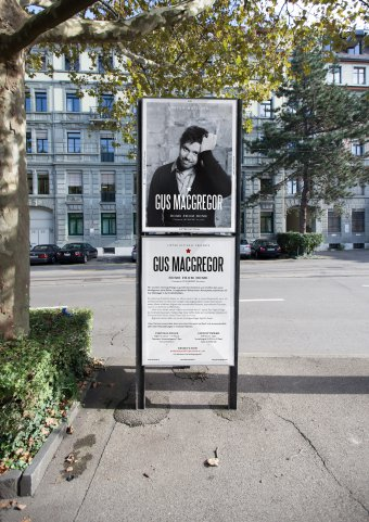 Plakat LINTER NATIONAL Gus MacGregor