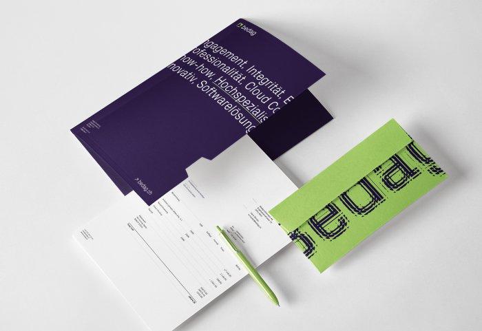 Briefschaften Branding