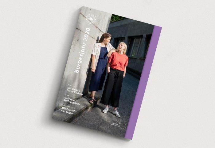 Editorial Design Burgergemeinde Bern