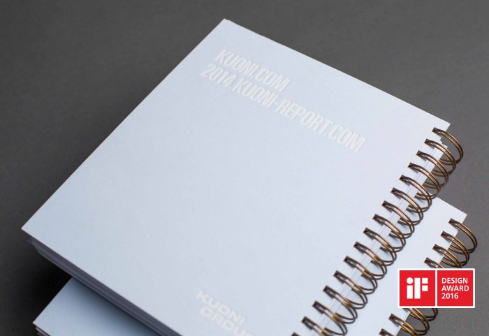 Kuoni Group Annual Report Geschäftsbericht Cover