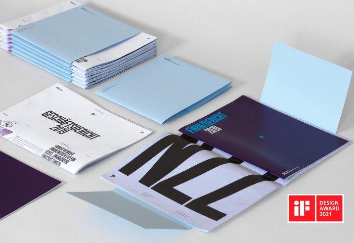 iF Design Award Noord NZZ Geschäftsbericht