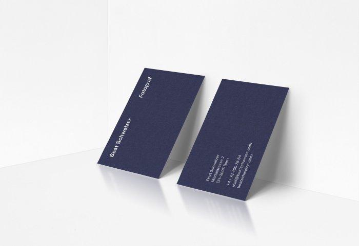 Beat Schweizer Fotograf Corporate Design