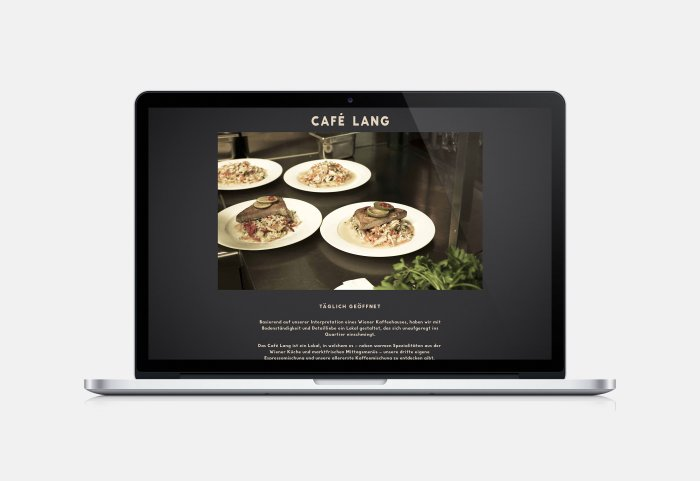 Café Lang Website