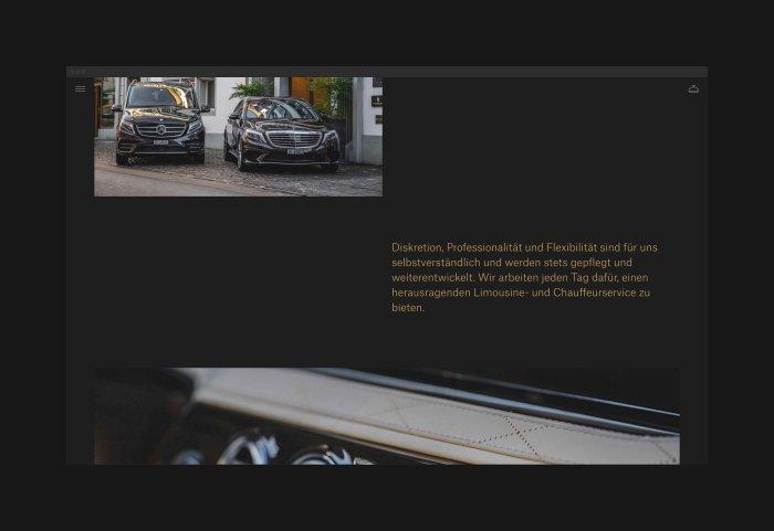 Dursun Limousine Webdesign