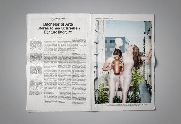 HKB Zeitung Wieviel Kunst darf die Reportage