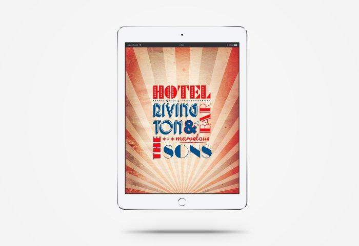Hotel Rivington & Sons Landingpage