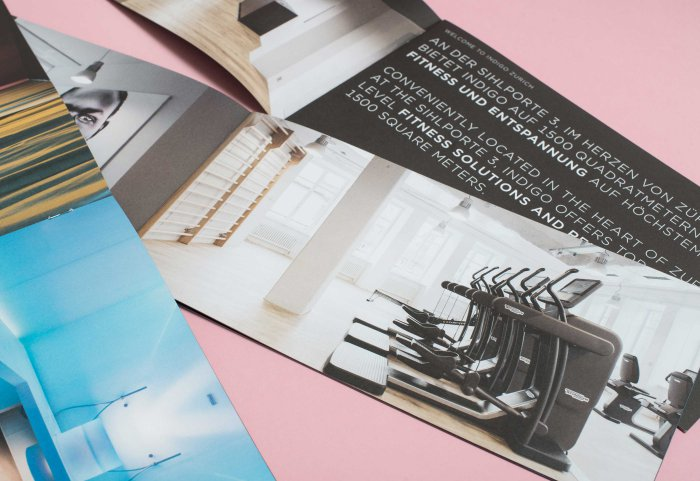 INDIGO Fitness Club Image-Broschüre