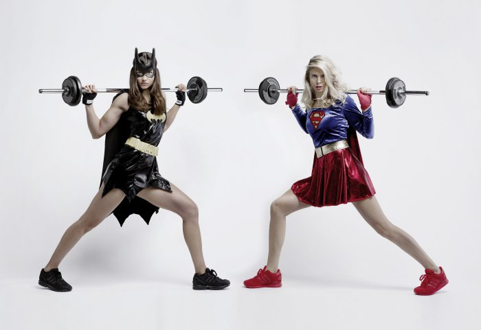INDIGO Fitness Club Supergirl vs Batgirl