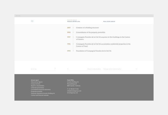 Investis Online Report Desktop