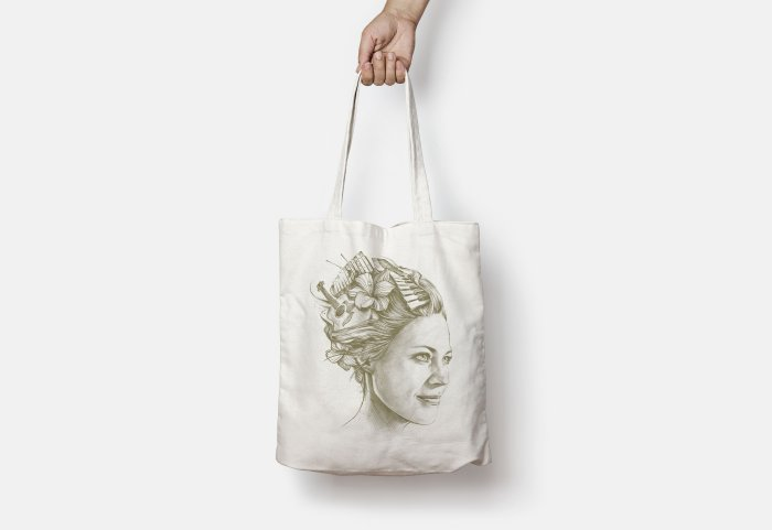 Jaël Acoustic Artwork Tote Bag