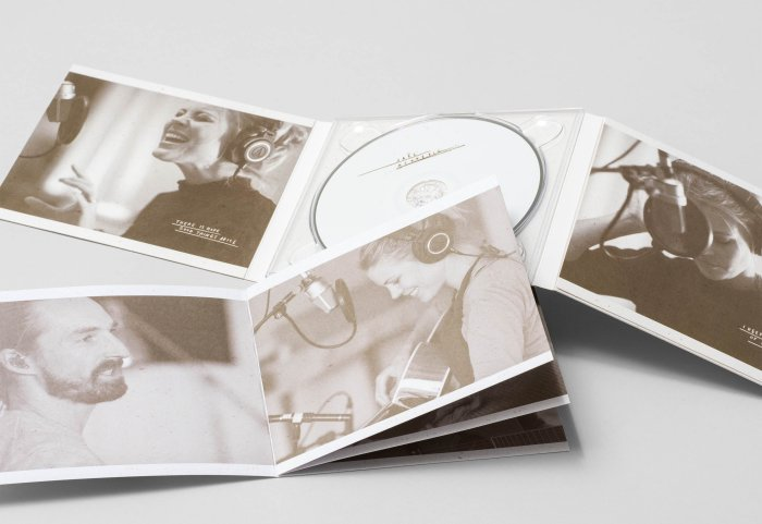 Jaël Acoustic Artwork Digipack