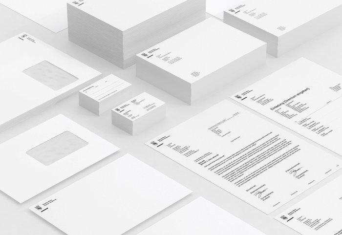 Kanton Bern Branding Briefschaften