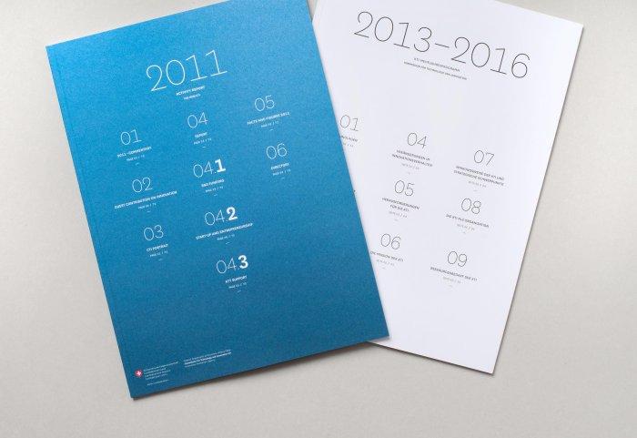 Cover Tätigkeitsbericht und Mehrjahresplan KTI