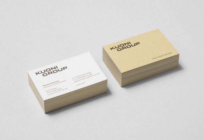 Kuoni Group Businiess Card