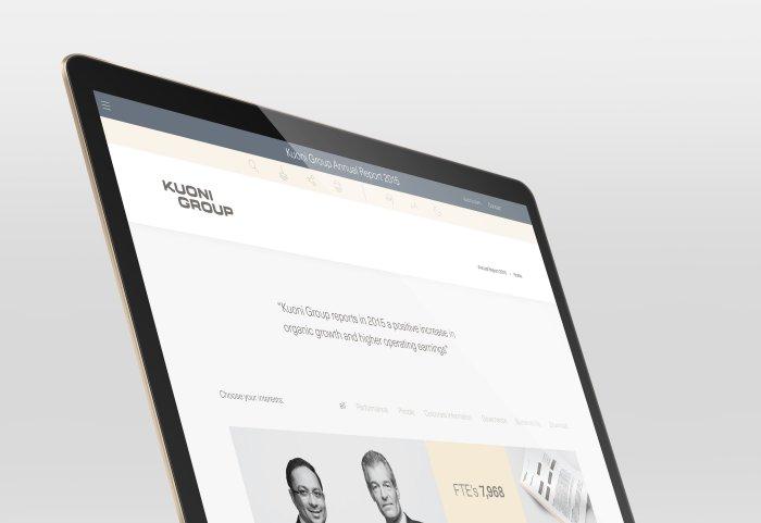 Kuoni Group Geschäftsbericht 2015