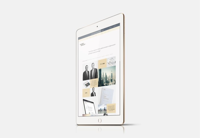 Kuoni Group Online Report 2015 iPad
