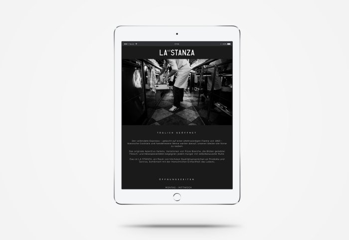 La Stanza Responsive Webdesign