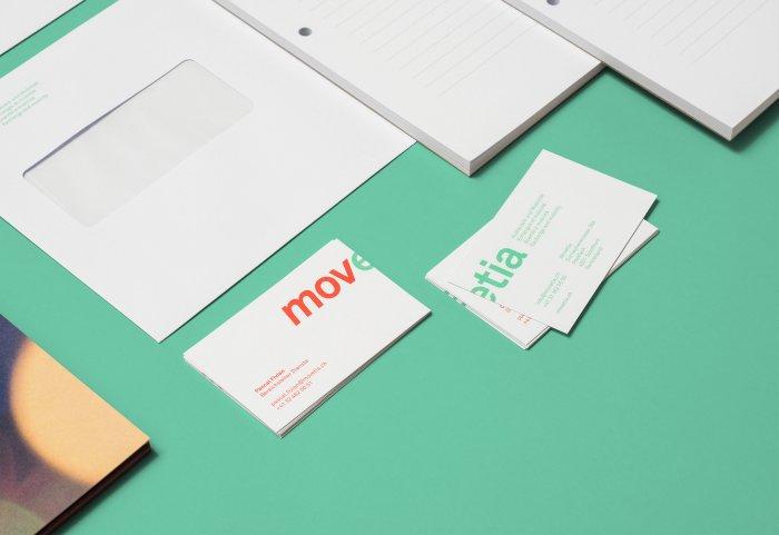 Movetia Branding