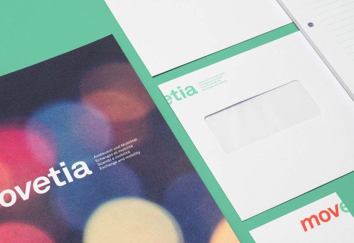 Movetia Briefschaften Kuvert Visitenkarte