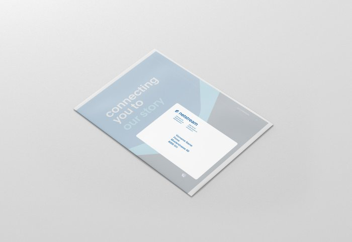 Corporate Publishing Netstream Branding