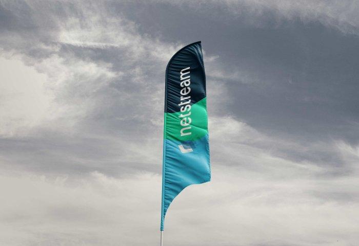 Corporate Logo Netstream Branding
