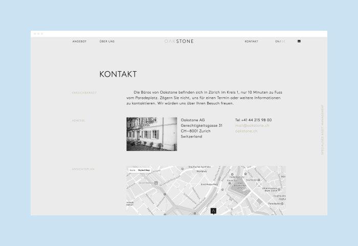 Oakstone Responsive Webdesign