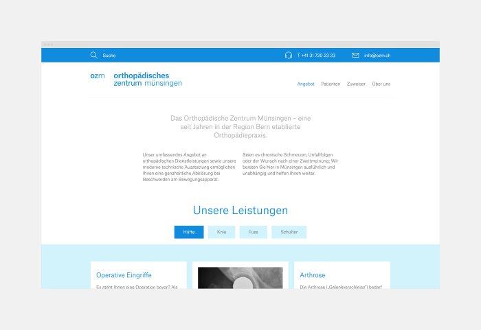 Website Konzeption und Gestaltung