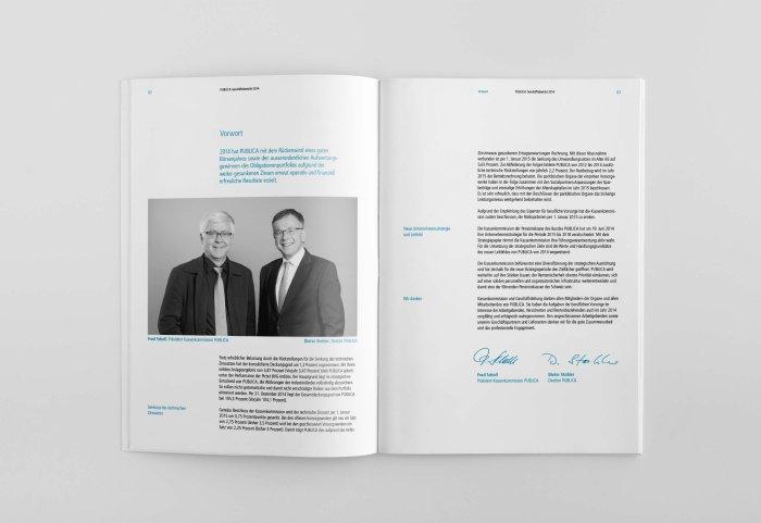 Pensionskasse des Bundes PUBLICA GB 2014