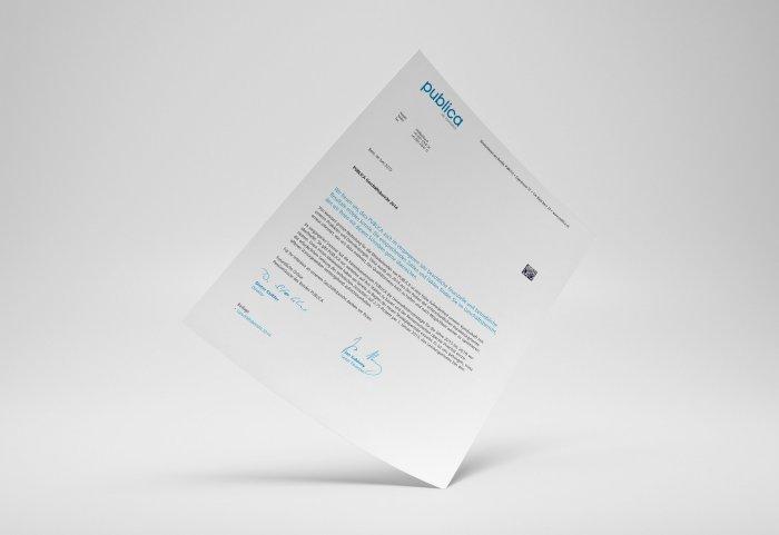 PUBLICA Geschäftsbericht 2014 Begleitbrief