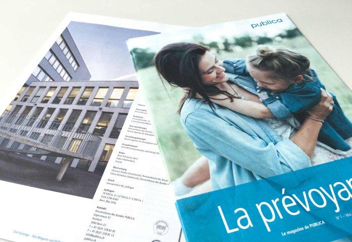 Publica Magazin «die Vorsorge» Noord