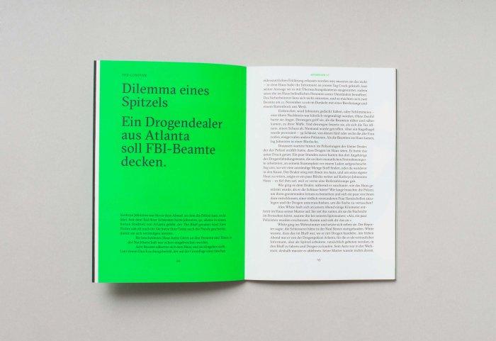 Reportagen Magazin Innenseite