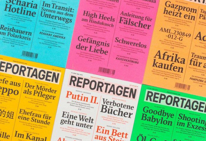 Reportagen Magazin Cover