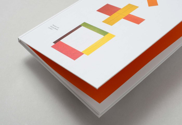 Editorial Design ROBERT MANGOLD Cover