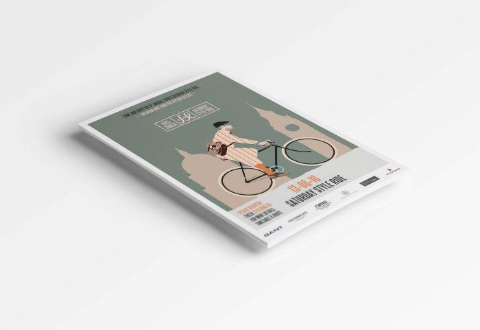 Saturday Style Ride Illustration Concept