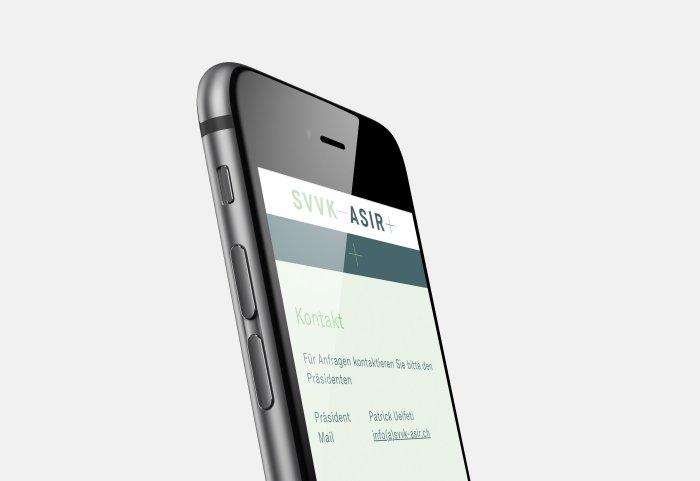SVVK–ASIR Responsive Website