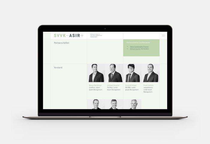 SVVK-ASIR Webdesign