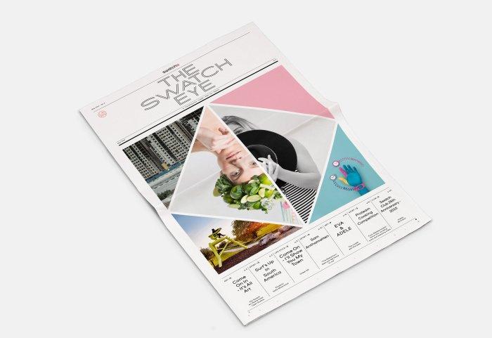 The Swatch Eye Magazine Editorial Design #6