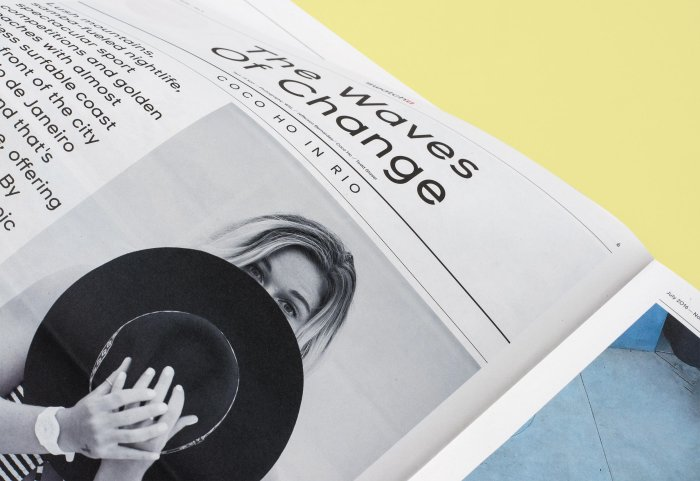 Swatch Group Editorial Design