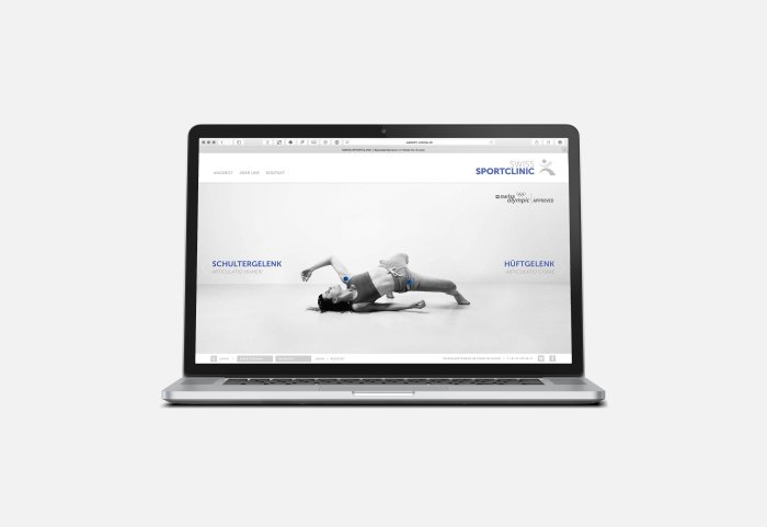 Swiss Sportclinic Responsive Website Home