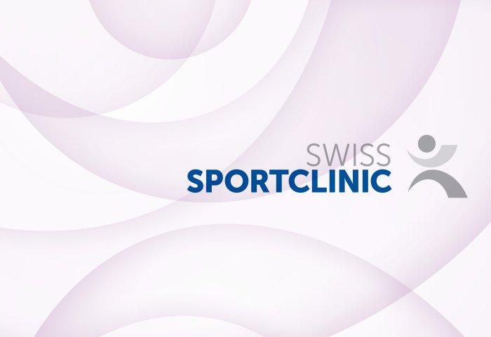 Swiss Sportclinic Bildkonzept Motion Weihnachtskarte
