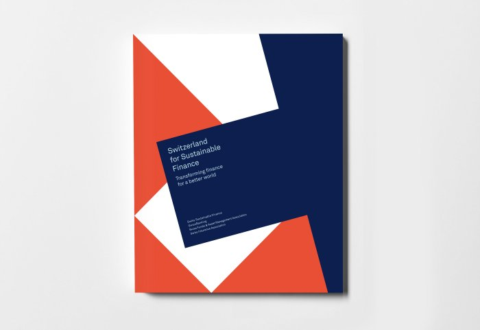 Swiss Sustainable Finance Editorial Design