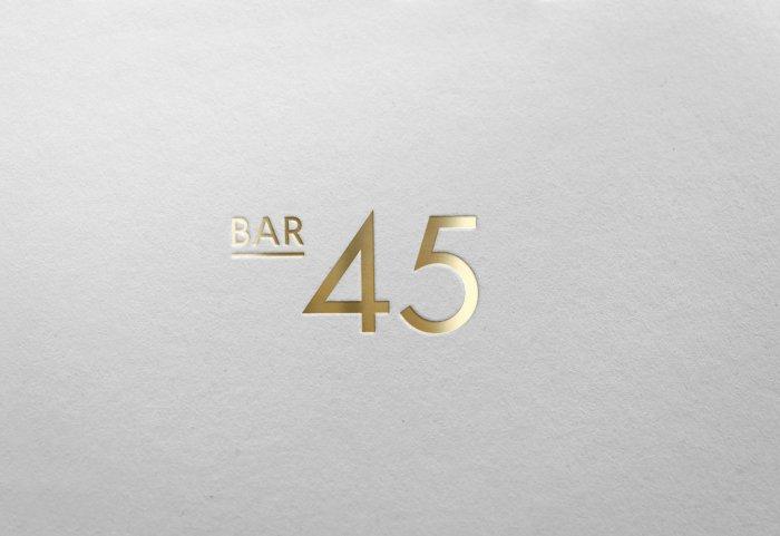 Bar 45 Logo
