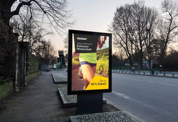 Isostar CD-Manual, Inserate, Plakate, Werbung