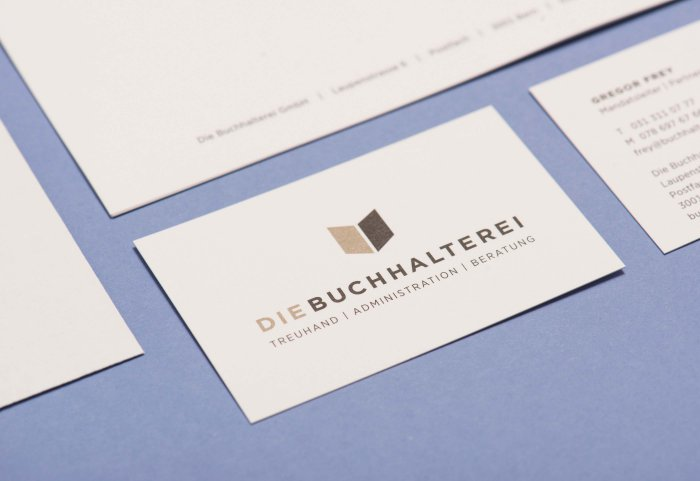 Corporate Design Die Buchalterei NOORD