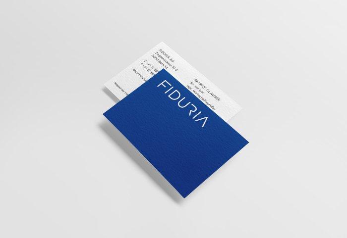 Visitenkarten FIDURIA