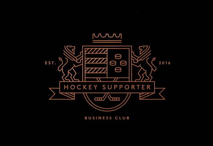 Hockey Supporter Logo